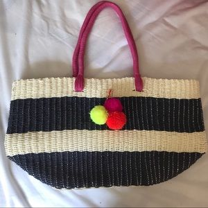 Old Navy Pom Pom bag